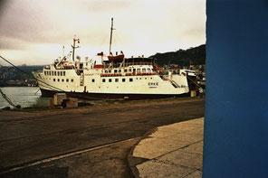 das regionales Fährschiff brachte uns nach Trabzon