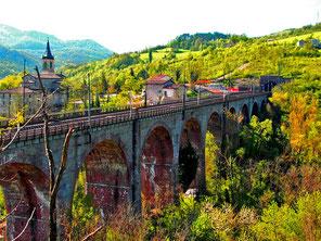 Eisenbahn-Viadukt bei Castell d´Aiona
