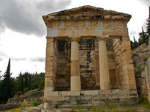 Athene-Tempel - Delphi