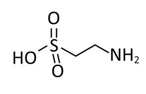 Formule chimique de la Taurine