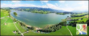 Panoramique 180° Lac de la Gruyère