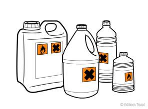 comment déboucher une canalisation avec des produits chimiques