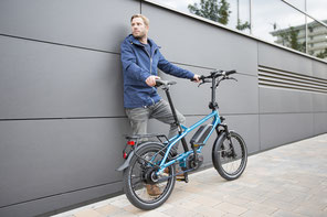 Mehr über Falt- und Kompakt e-Bikes in einem e-motion e-Bike erfahren