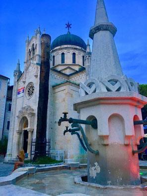 Inmitten der historischen Stadt Herceg Novi