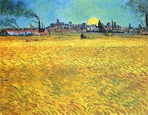 VAN GOGH Sera d'estate ad Arles 1888