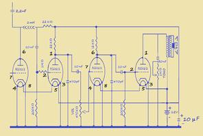 sezione ad audio frequenza