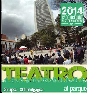Chiminigagua  en Teatro al Parque 2014