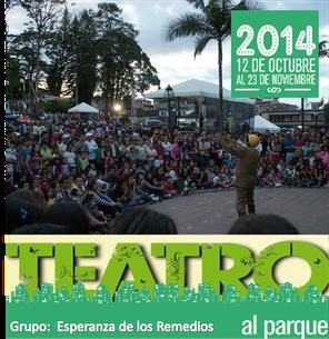 Esperanza de los remedios en Teatro al Parque 2014