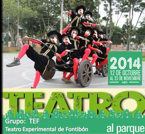 TEF en Teatro al Parque 2014