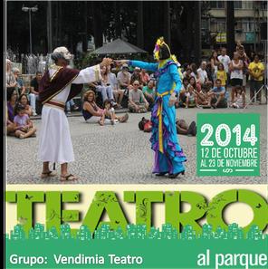 Vendimia en Teatro al Parque 2014