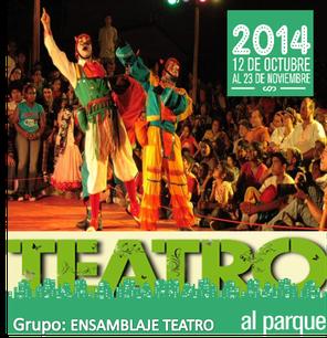 Ensamblaje Teatro en Teatro al Parque 2014