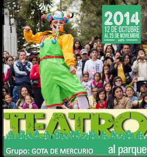 Gota de mercurio en Teatro al Parque 2014