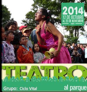 Ciclo Vital en Teatro al Parque 2014