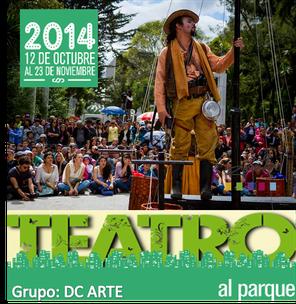 DC Arte en Teatro al Parque 2014