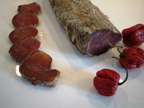Mignon de porc séché au poivre de Sichuan