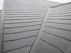 屋根(コロニアル) 塗装後