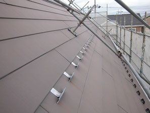 屋根(ガルバニウム) 塗装前