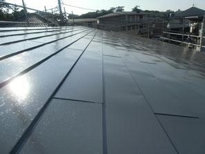 屋根(トタン) 塗装後