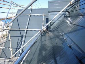屋根(ガルバニウム) 塗装後