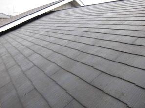 屋根(コロニアル) 塗装前