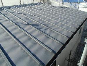 屋根(鉄板) 塗装前