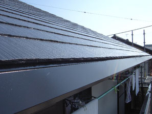 破風板、軒雨樋 塗装後