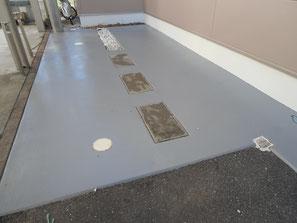 駐車場土間コンクリート 塗装後