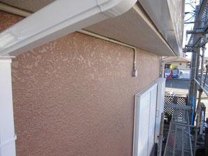 外壁(モルタル) 塗装後