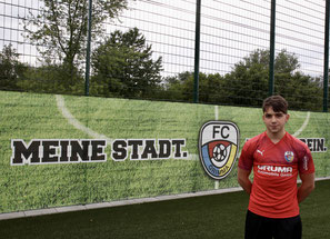 Lukas Kunath kommt aus der FCG-U19 ins Herrenteam