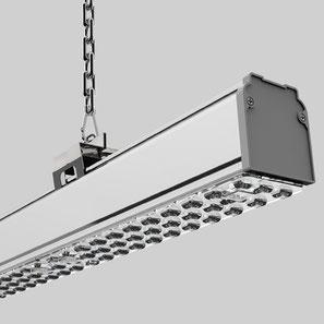 Industriehallenbeleuchtung Lichtband www.leuchten-profi24.de