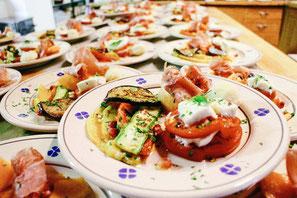 In de keuken van Casanuova worden de heerlijkste lokale lekkernijen bereid!