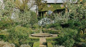 De prachtige en vredige tuin van de Tenuta