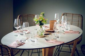 Hochzeitstisch Catering