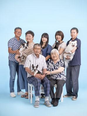 ペット撮影・家族写真