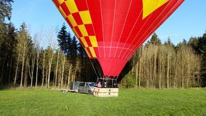 Ballonfahren München+Rosenheim