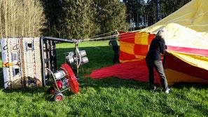 Ballonfahren Raum Rosenheim