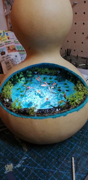 ひょうたん百景 モネの池