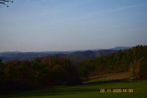 Blick vom Hollstein nach Nordwest