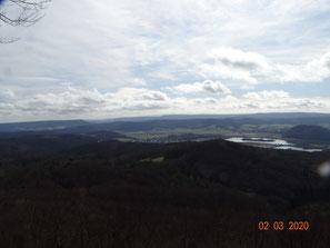 Von der Silberklippe ins östliche Werratal