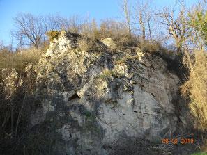 Dolomitfels im Werratal