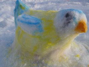 Schneemeise Foto: U. Jahn