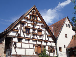 Mausersegler-Brutkolonie Schwarzes Ross Hilpoltstein (Foto: A. Schäffer)
