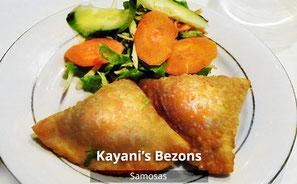 Restaurant Kayani's Bezons - Samosa