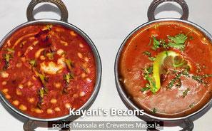 Restaurant Kayani's Bezons - Poulet et crevettes Massala