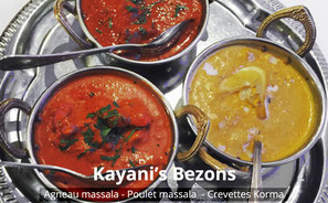 Restaurant Kayani's Bezons - Crevettes Korma