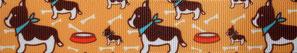 Borte mit Bulldog, 25mm, Halsband Hund