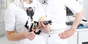 function diagnostics and measuring of the temporomandibular joint | dental practice dr. becker m. sc. stuttgart