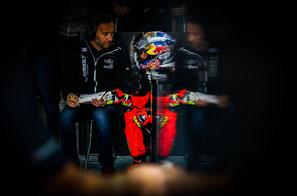 Sandro Cortese 2016 am Sachsenring in der Moto2 für Intact GP
