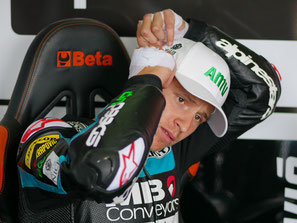 Fabio Quartararo für Speed Up in der Moto2 am Sachsenring 2018