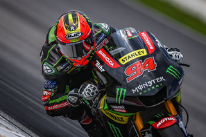 Jonas Folger 2017 bei den MotoGP Tests.